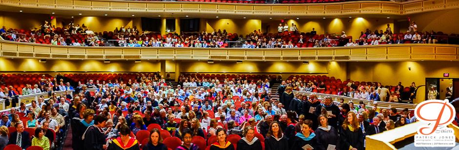 People Auditorium panoramic | Catherine McAuley High School