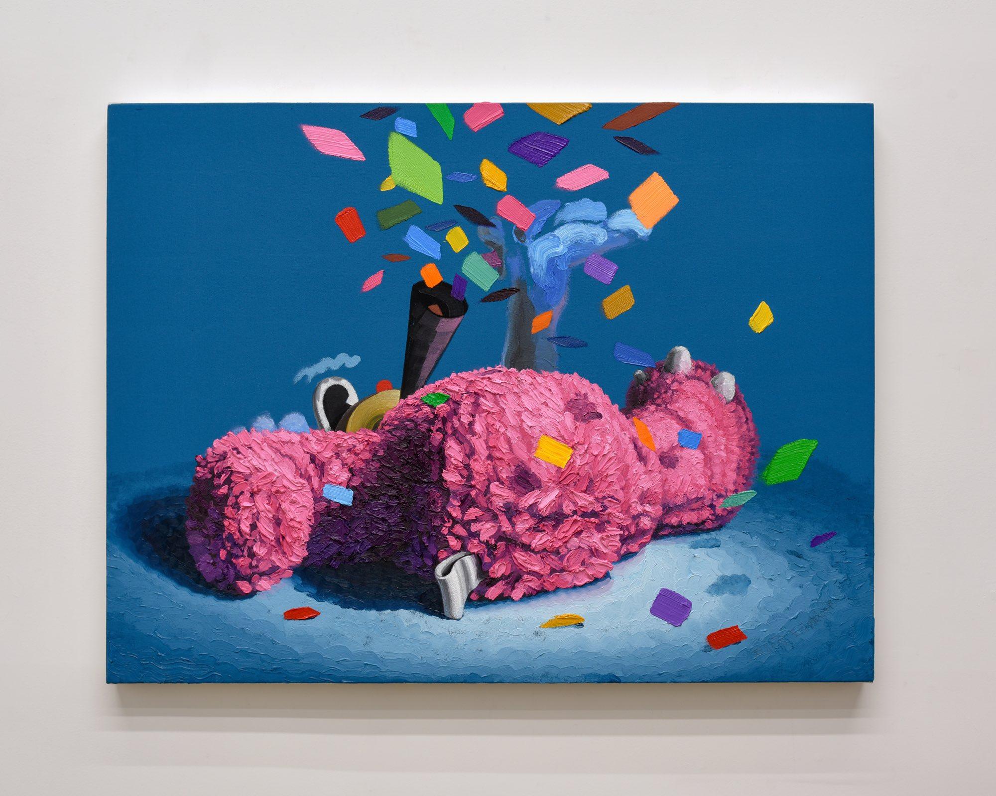 """third time's a charm"" oil on canvas, 30""x40"" (76cm x 102cm), 2018"