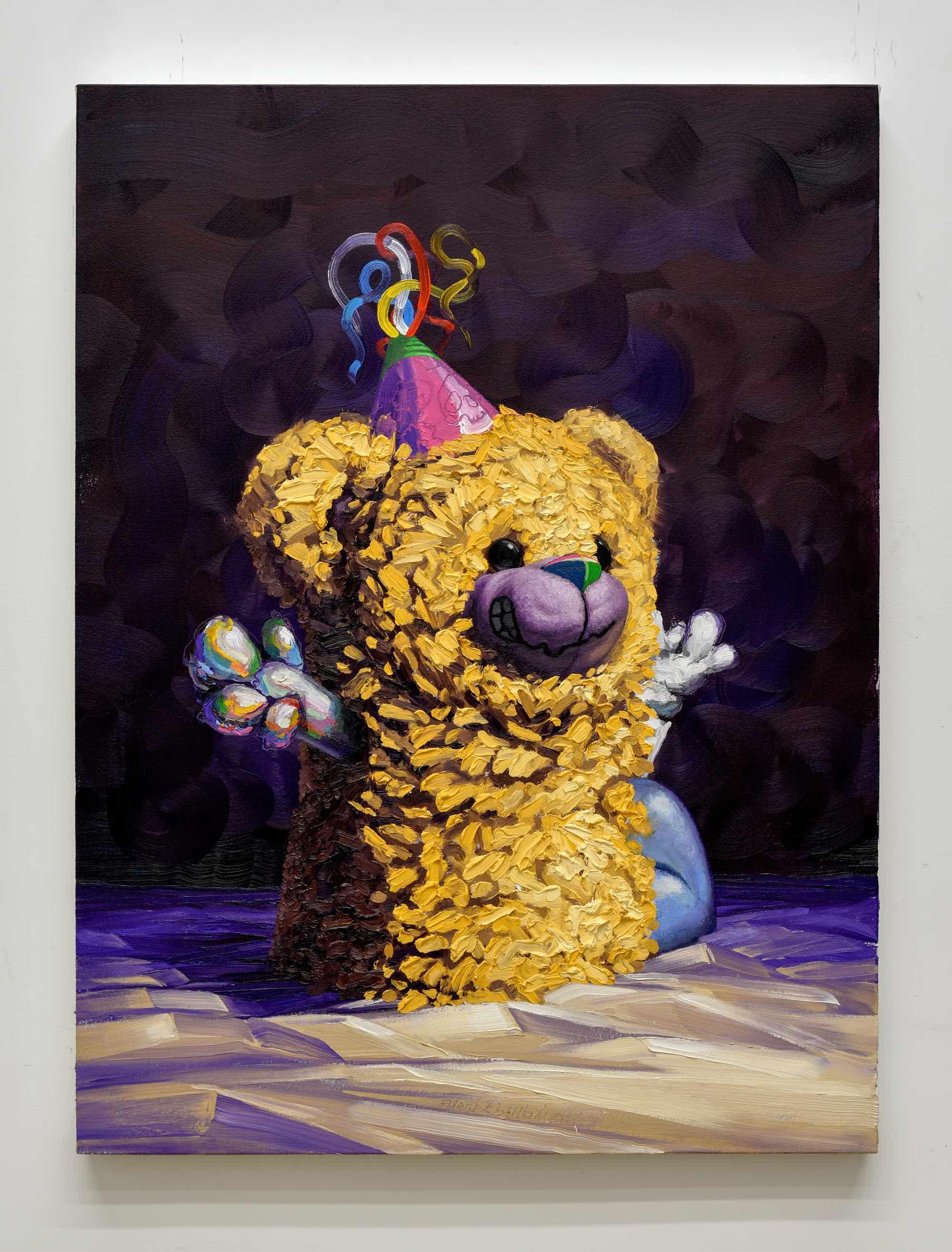 """""""gimmie a hug"""" oil on canvas, 40""""x30"""" (102cm x 76cm), 2018"""
