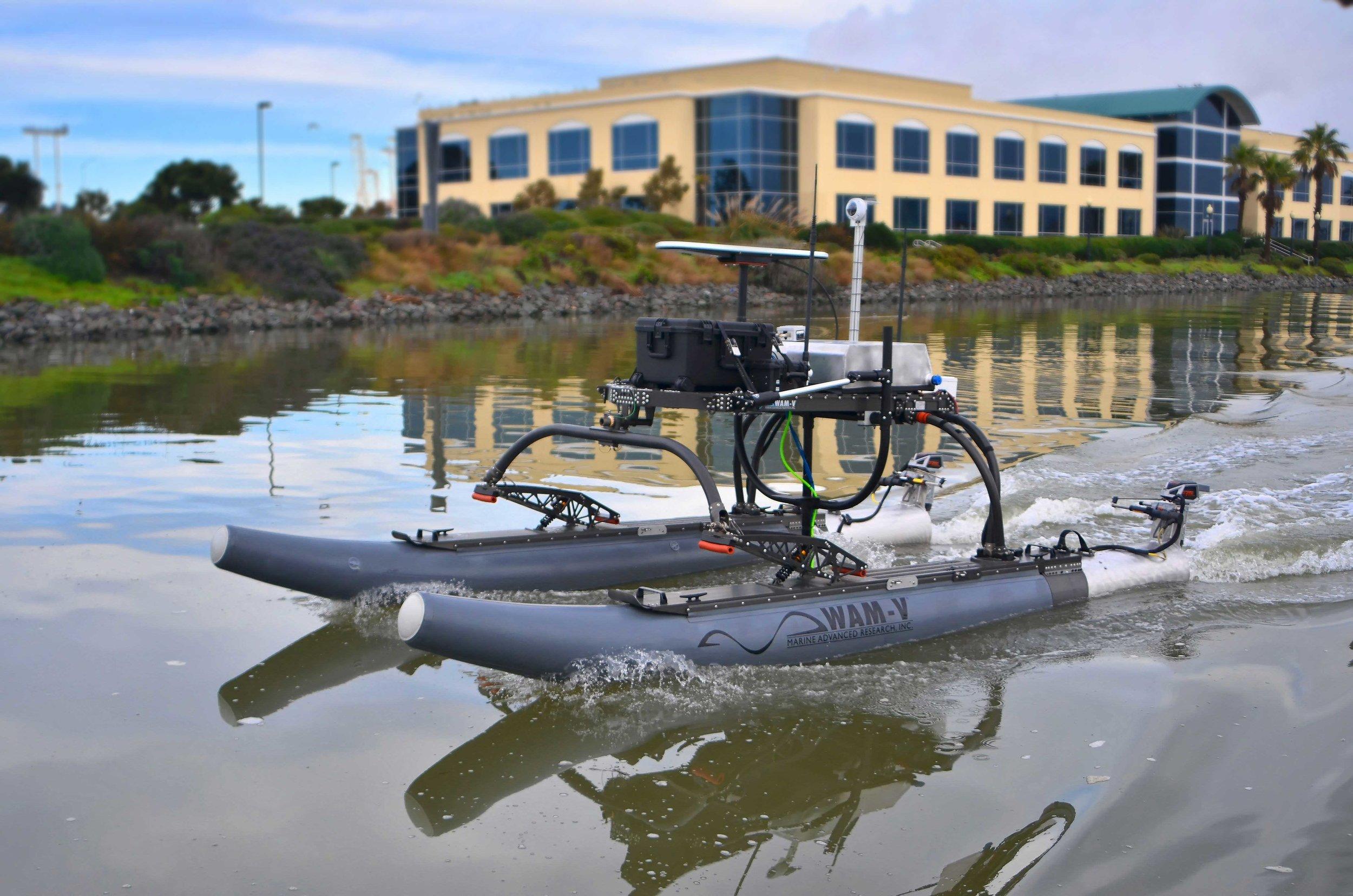 WAM-V 16 ASV for Marine Geotechnical Survey