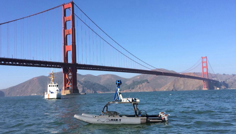 WAM-V 16 ASV for Infrastructure Inspections