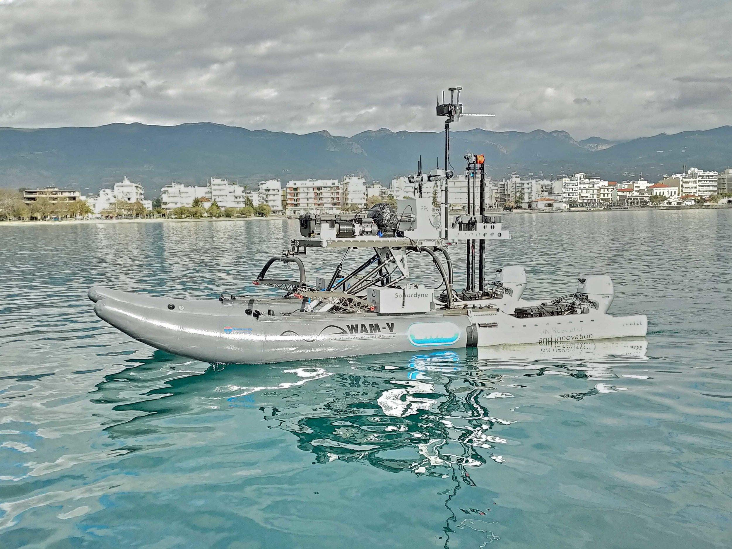 WAM-V 20 ASV Multi-Domain Autonomous Marine System