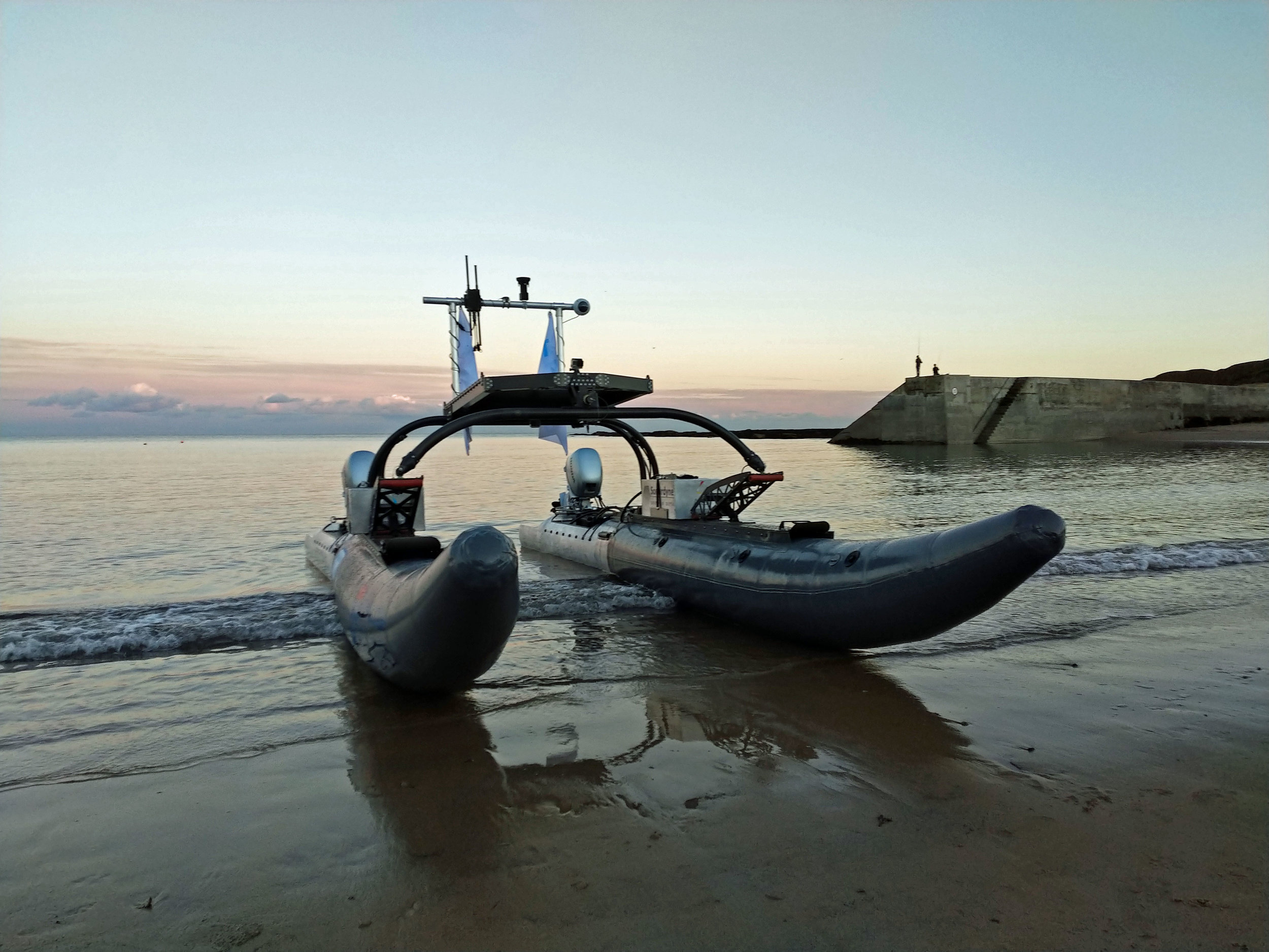 WAM-V 20 ASV Beach Launch