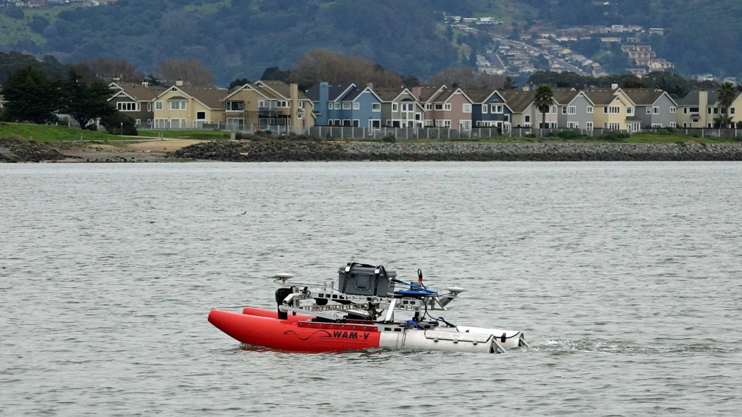 WAM-V 8 ASV for Hydrographic Survey