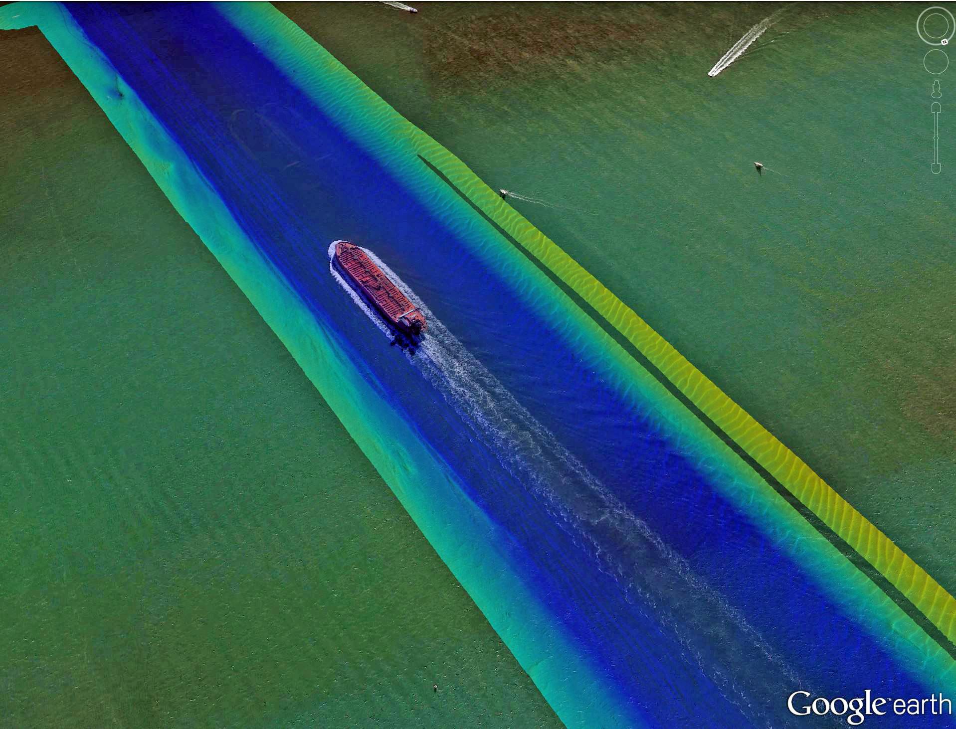 WAM-V ASV Ship Channel Survey