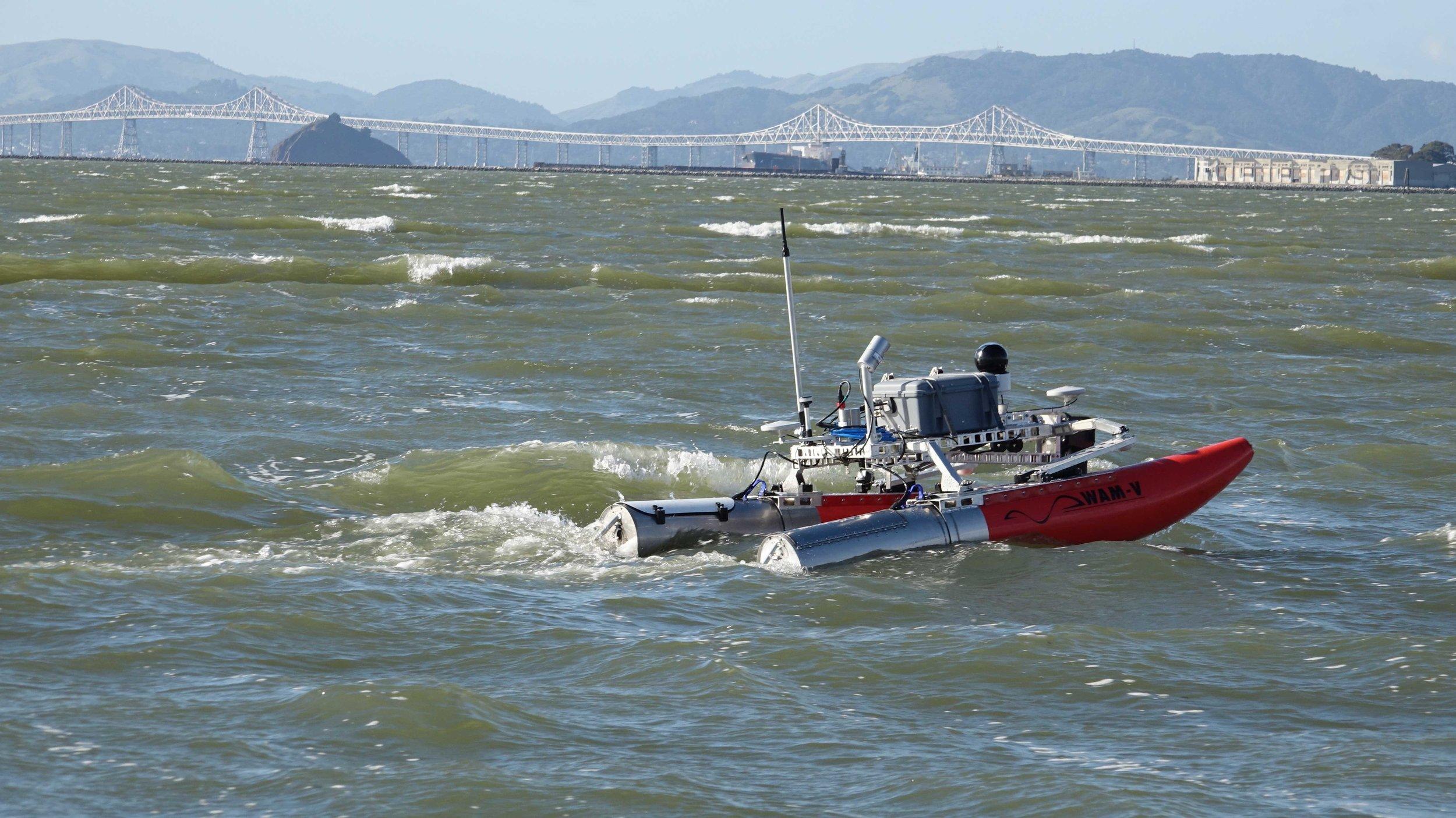 WAM-V 8 ASV Seakeeping