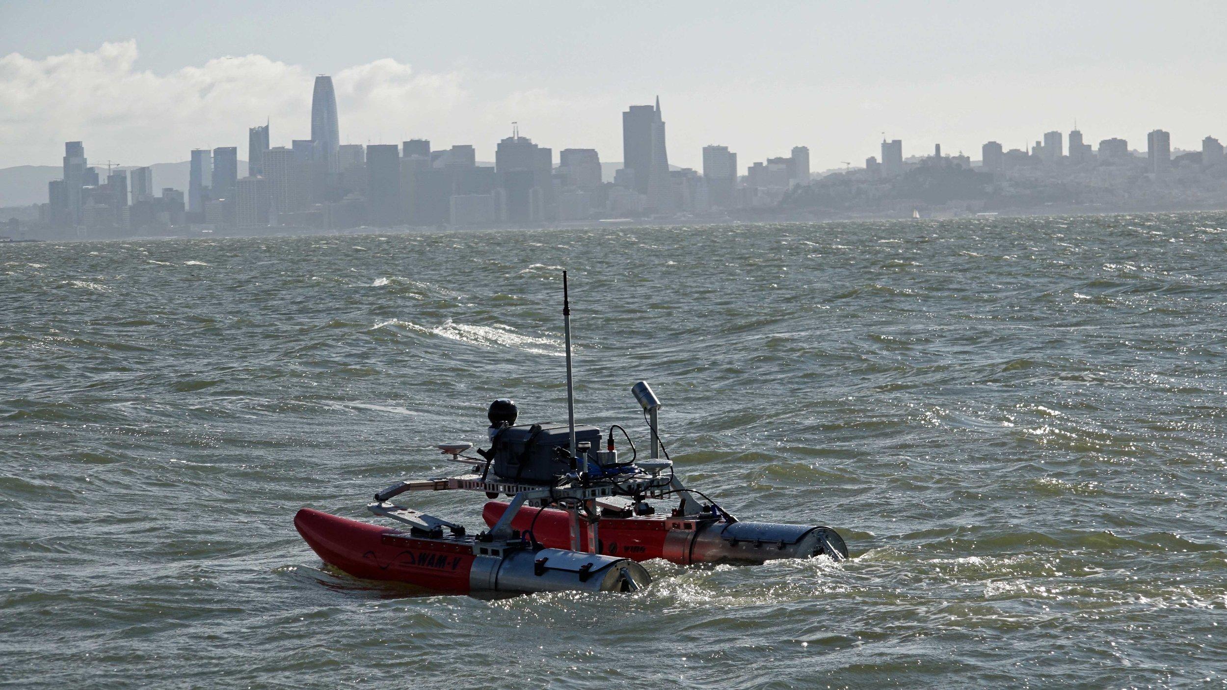 WAM-V 8 ASV Coastal Survey
