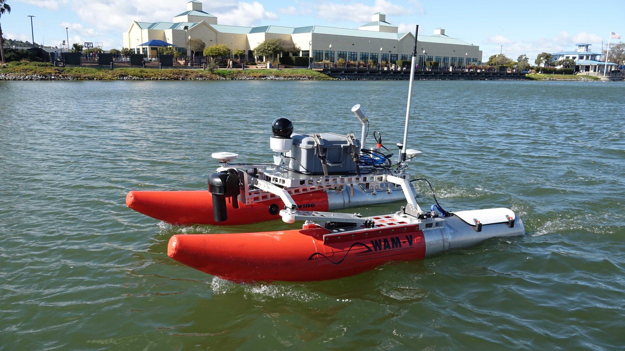 WAM-V 8 ASV for Harbor Survey