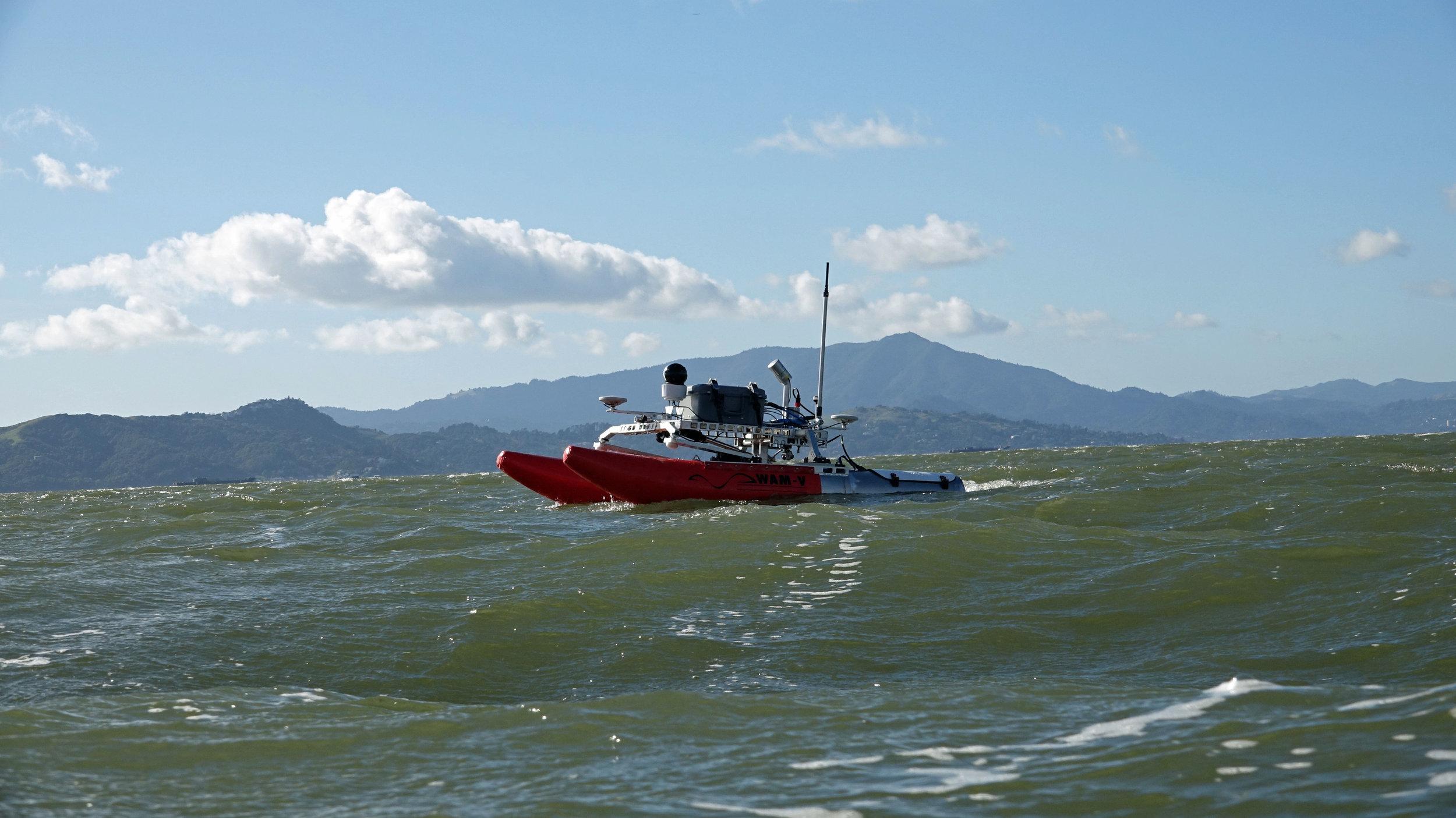 WAM-V 8 ASV for Marine Surveys