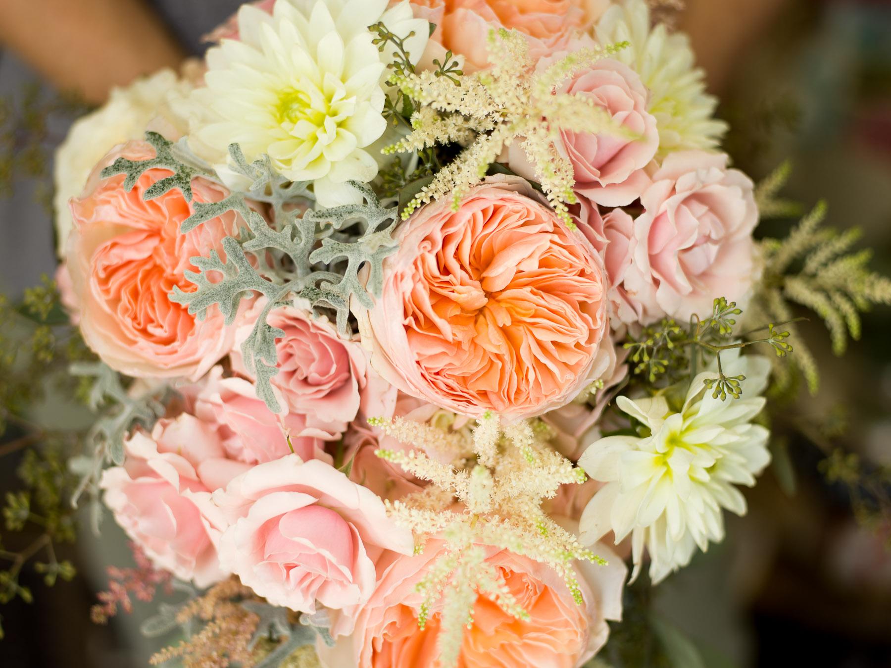 Portland Maine Wedding Photographer | Wedding Bouquet