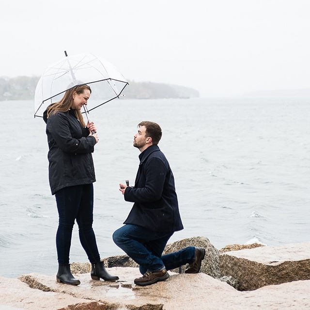 Definitely not a bad way to spend a rainy Friday afternoon.  I had so much fun with these two today! Congratulations Daniel & Chelsea!! 🍾🎉💍💕 #shesaidyes