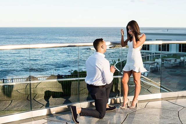 Playing catch up with this busy season, but just had to share a few of Neil & Tayla's Proposal shoot from@a couple weeks back!  They had a picture-perfect, storybook seaside proposal at @cliffhousemaine, and a I was so happy to be a part of it.  Their story & photos were even picked up by @theknot in their #howtheyasked section!  Congratulations again Neil & Tayla!! 💍🎉🍾🥂 #shesaidyes