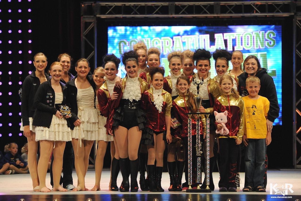 2015 National Champions! Kids Artistic Revue Nationals Toledo, Ohio