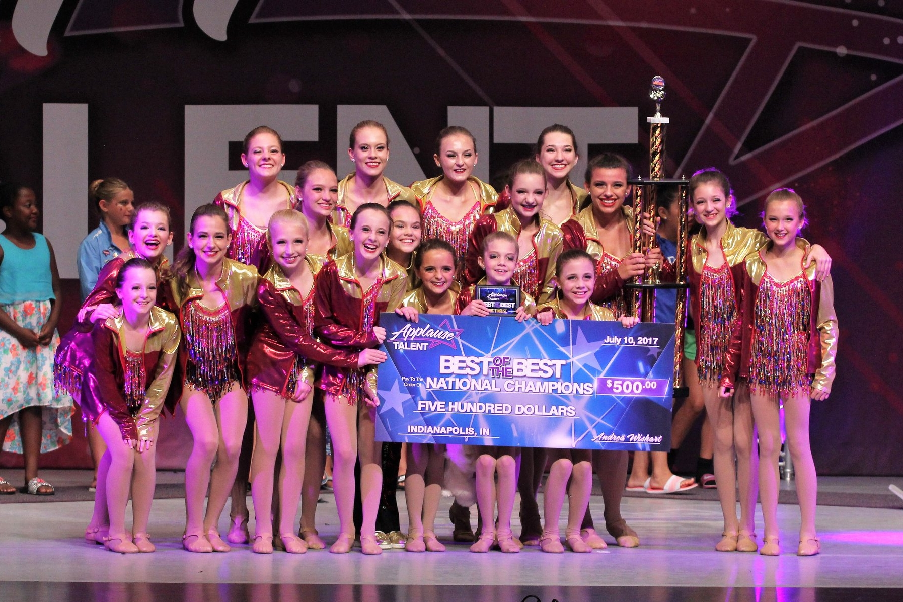 2017 Best of the Best National Champions!! Applause Talent Nationals Indianapolis, Indiana