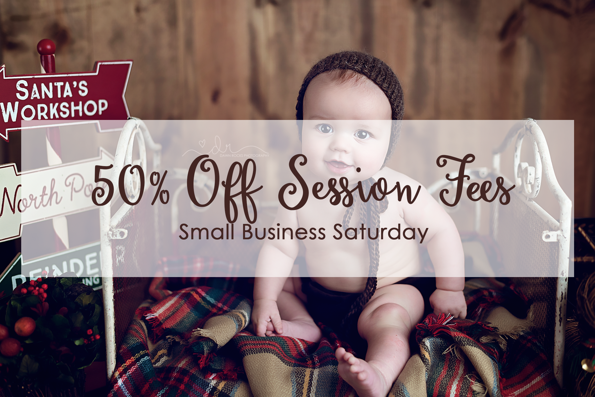 Small Business Saturday Photography Deal