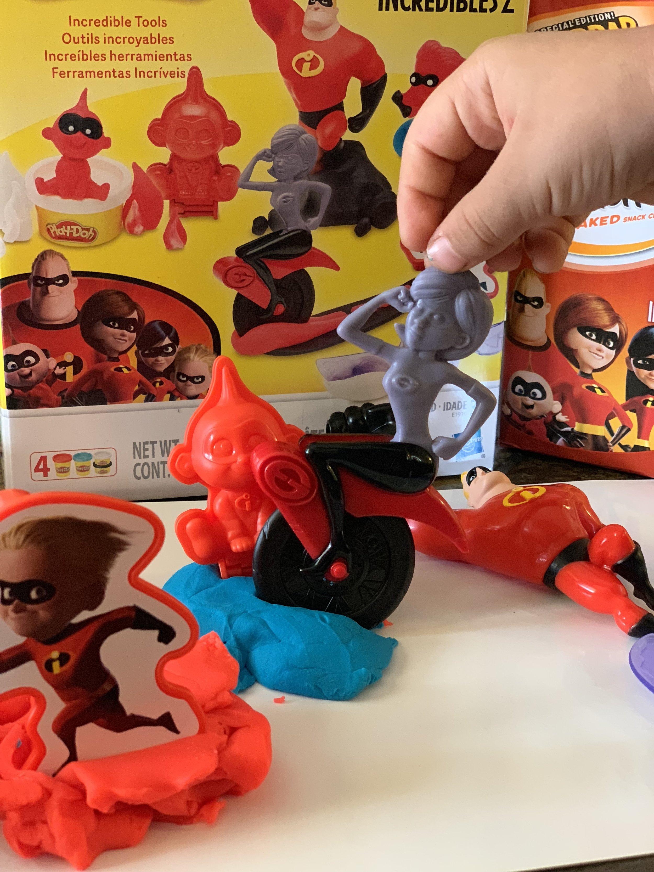 Play-Doh Incredibles 2 set