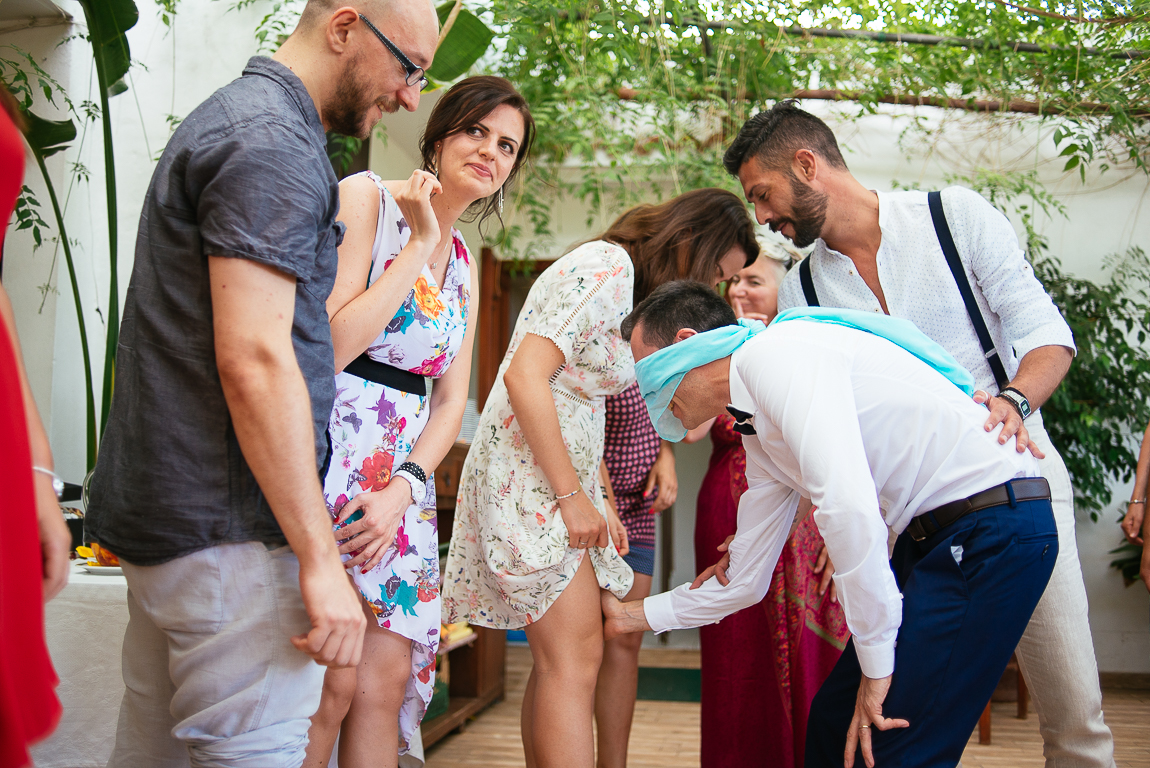 italian wedding games