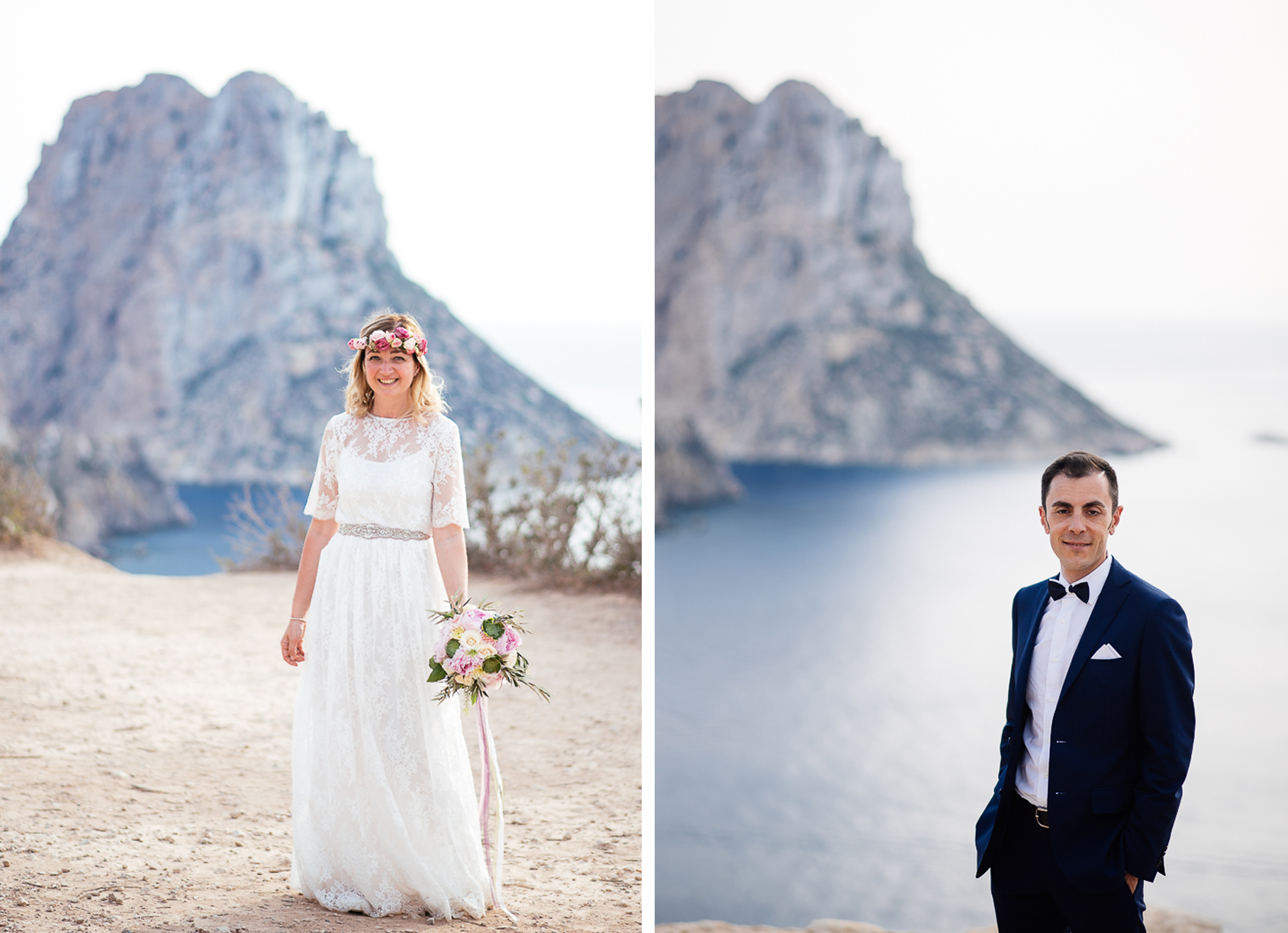 couple es vedra wedding
