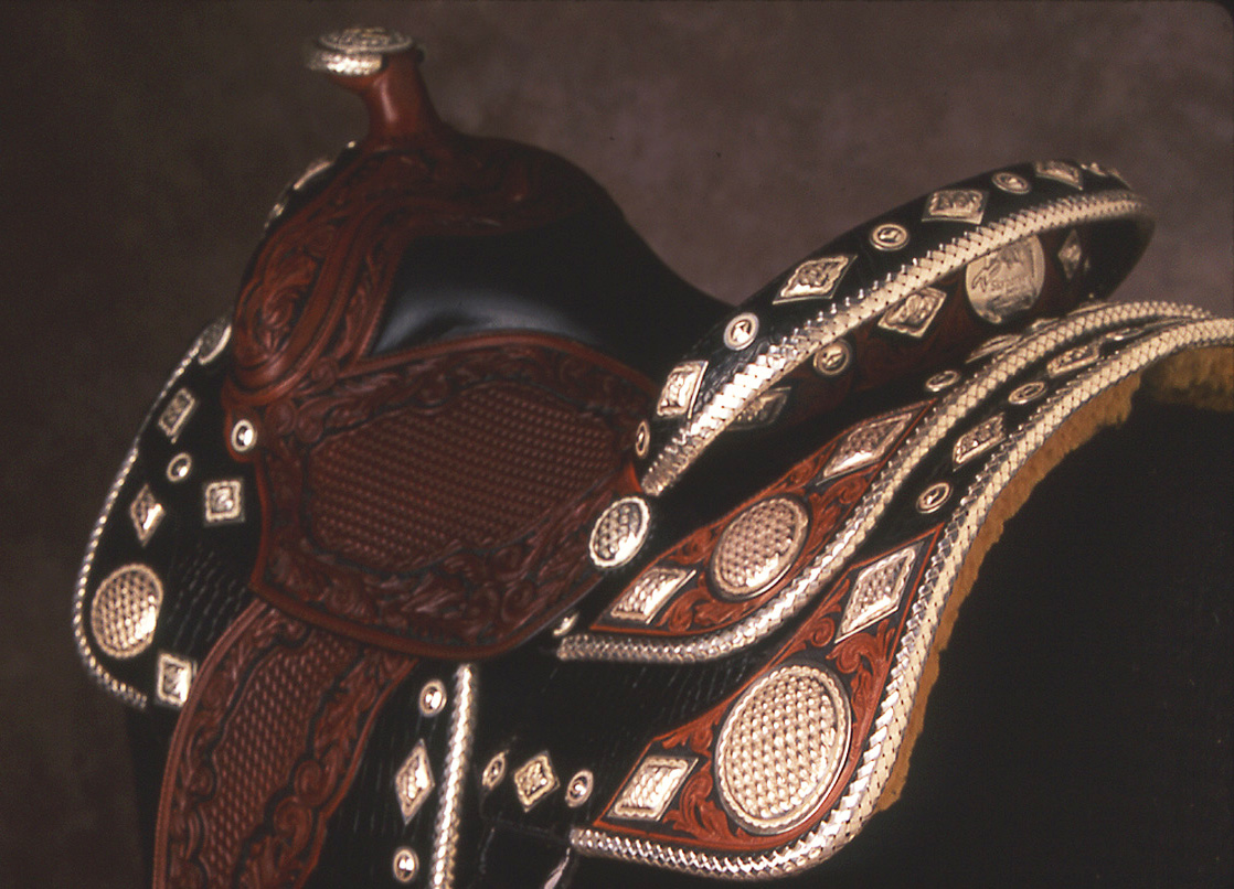 Basket Weave Saddle - Collaboration with Skyhorse Saddles
