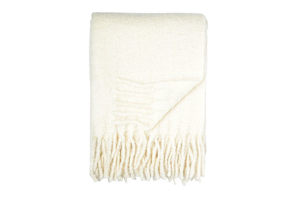 Hugo throw from Linum  - Selfridges 