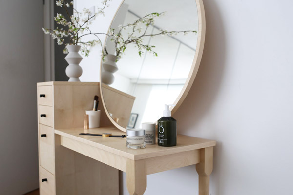 Habitat dressing table & Birchbox products | Design Hunter
