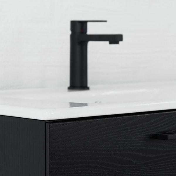 black bathroom tap from Swoon | Design Hunter