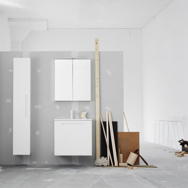 Bathroom styling and textures at Swoon | Design Hunter