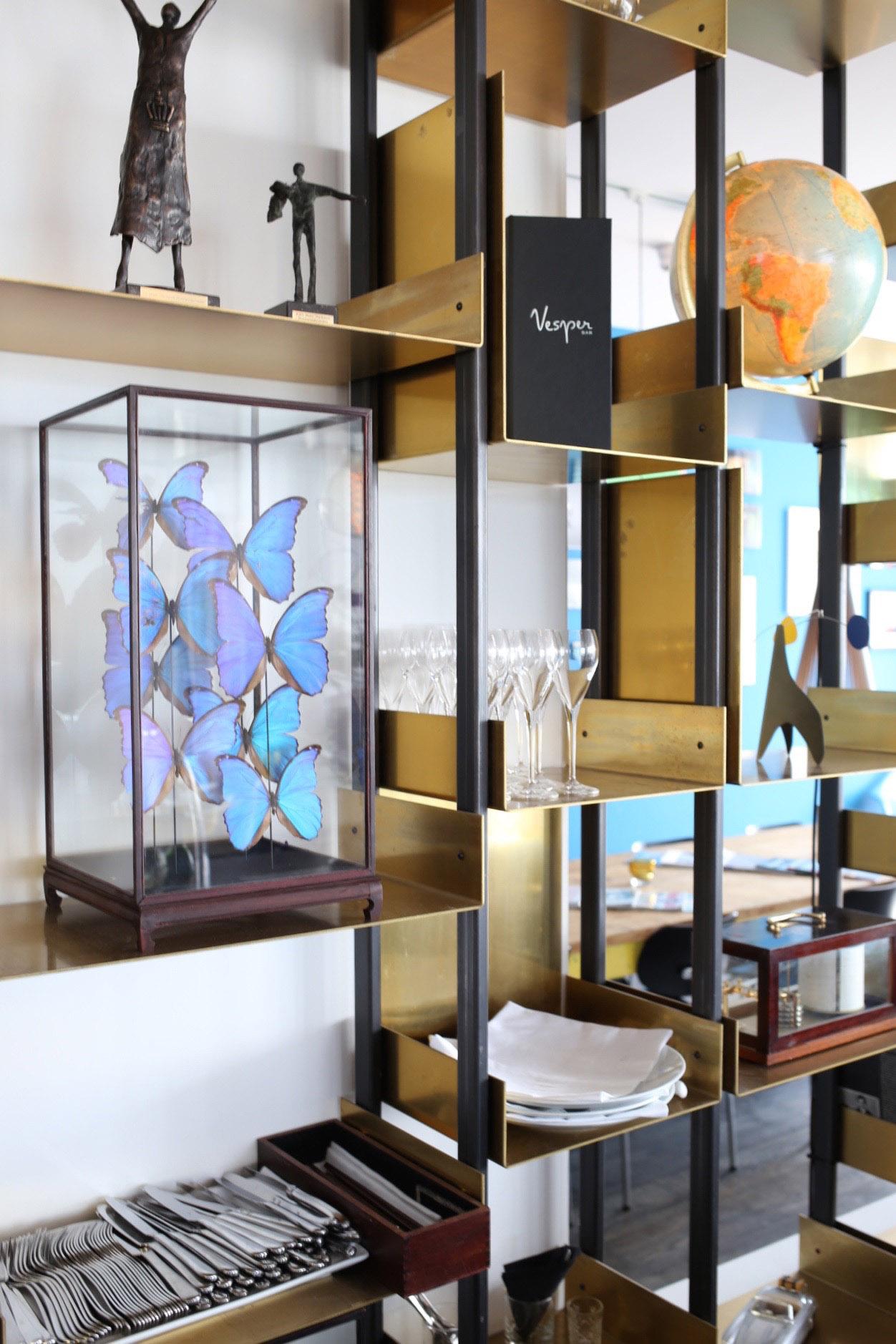 The bar at the Vesper Hotel Noordwijk | Design Hunter