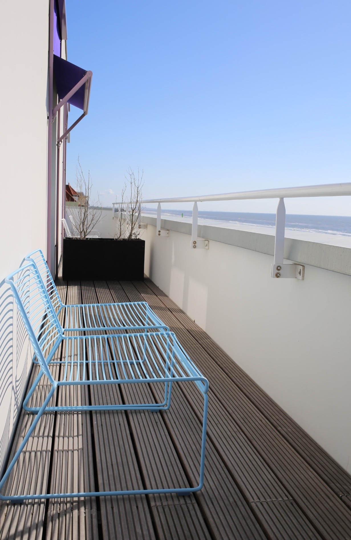 Balcony room at Vesper Hotel Noordwijk | Design Hunter