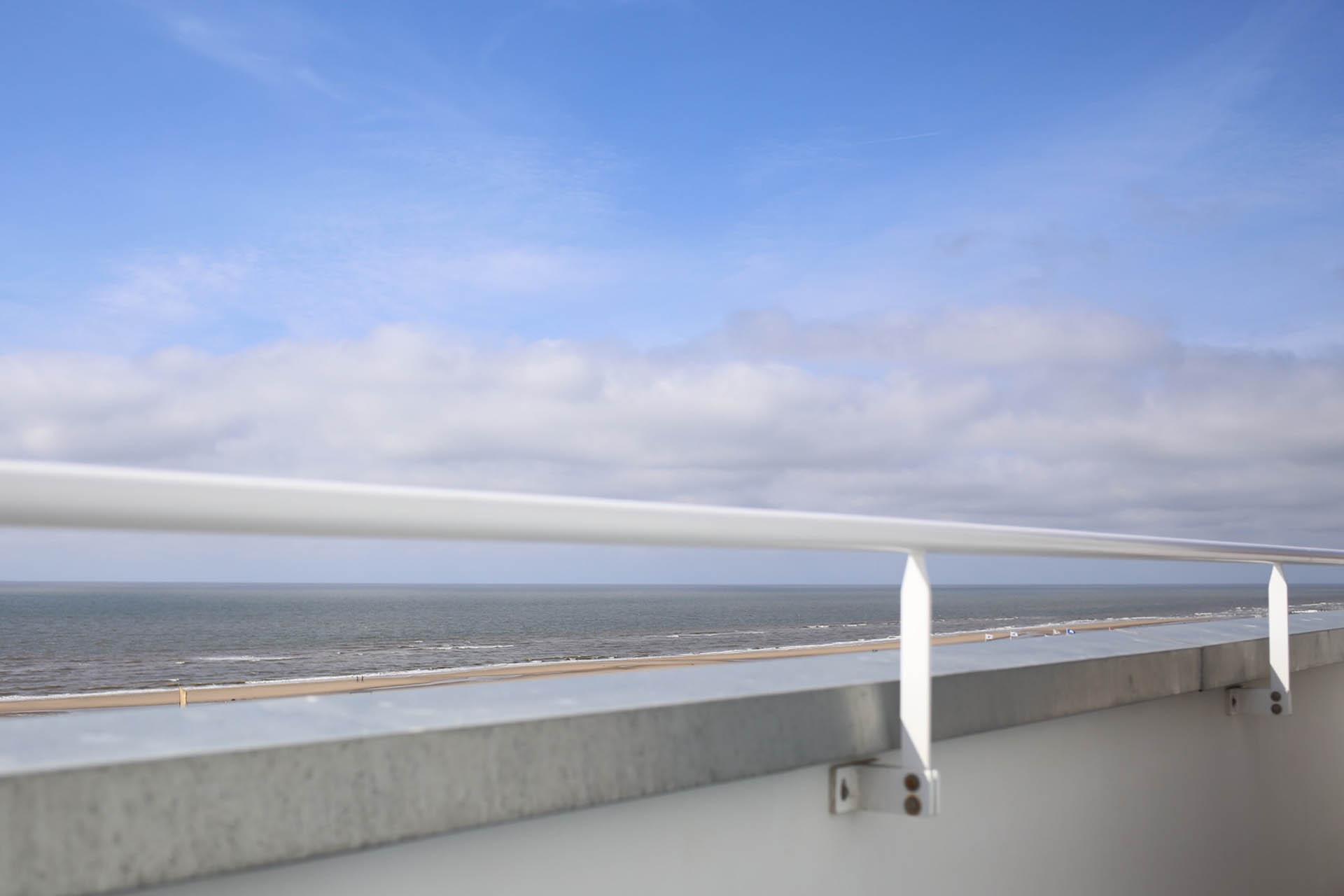 Balcony view at Vesper Hotel | Noordwijk