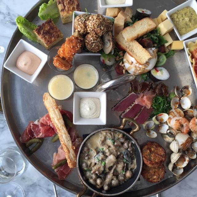 Chef's platter at Vesper Hotel Noordwijk | Design Hunter