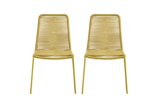 Espina outdoor chairs | John Lewis