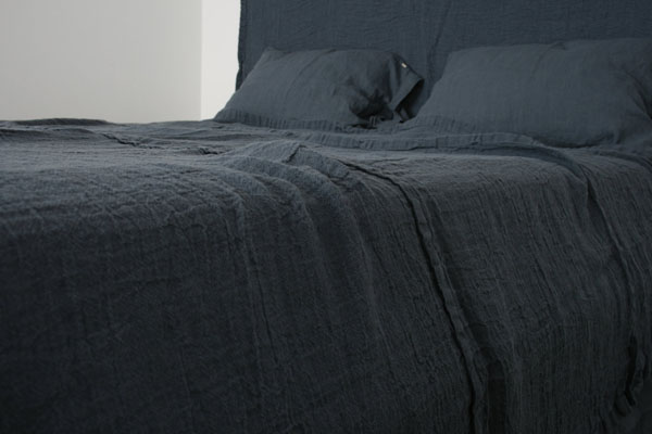 French linen bed cover