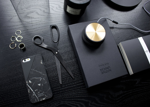 Marble phone case by Native Union styled by Hege Morris and Deborah Gordon