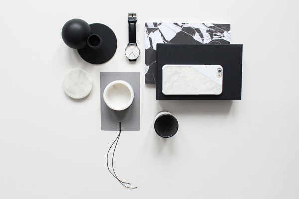 Marble iPhone case by Native Union   Styling by Hege Morris and Deborah Gordon