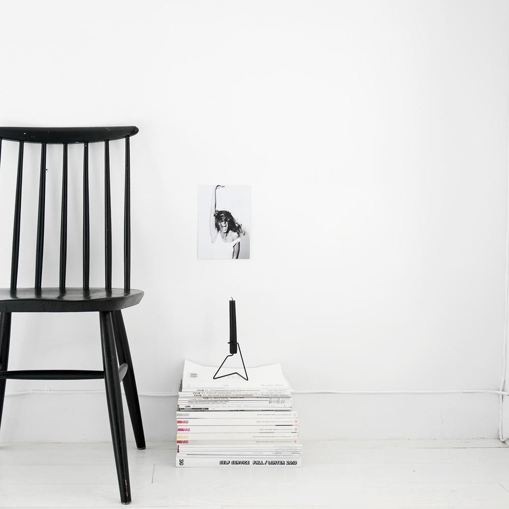 Black candle holder S2 20 | Design Hunter