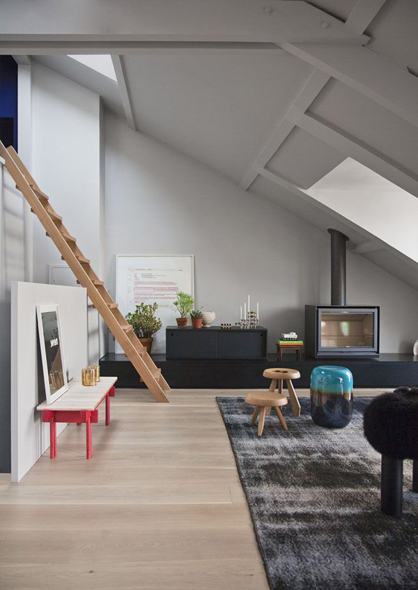 Paris duplex apartment by RMGB   Design Hunter