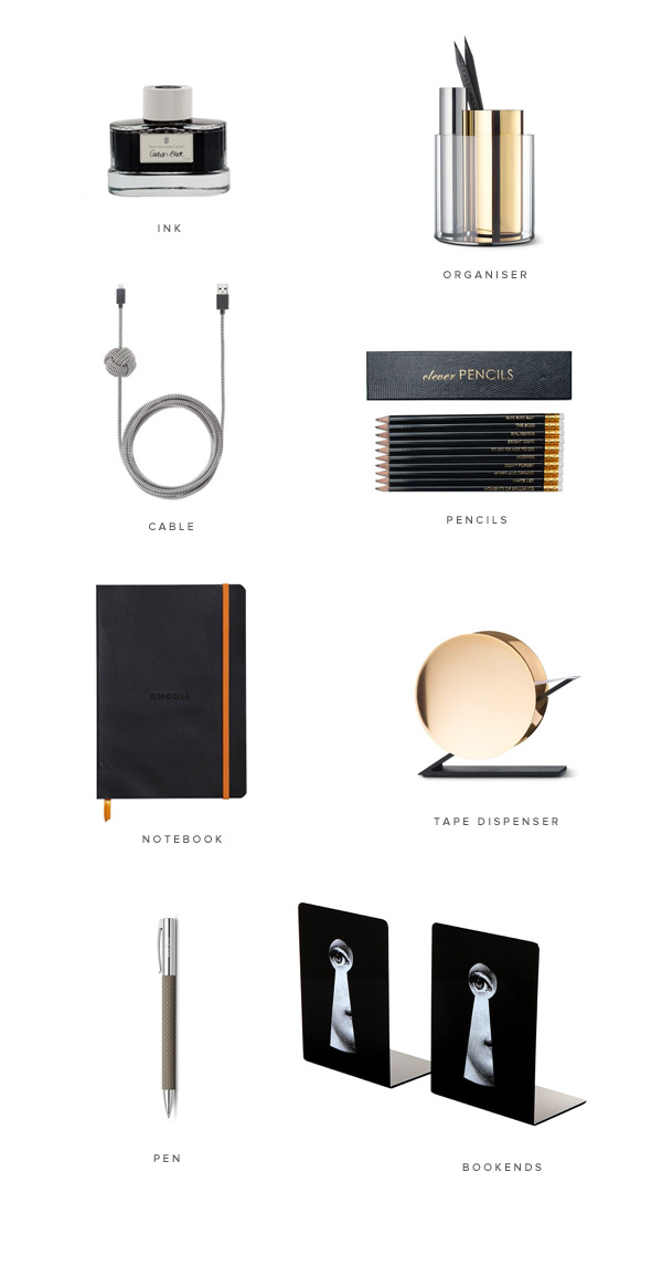 Desk accessories and stationery | Design Hunter