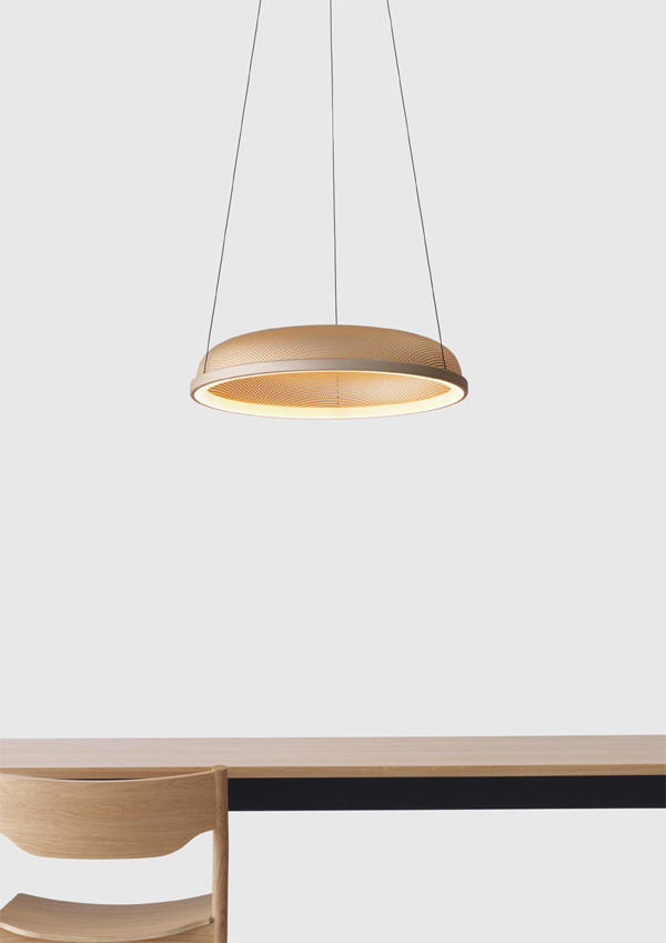 Mesh Space Pendant by Flynn Talbot