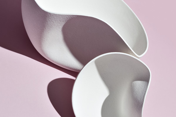 Moon bowls by Ilona van der Bergh | Photography by Haw Lin