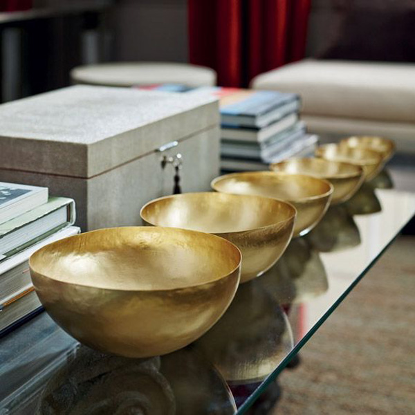 Lama brass offering bowls | OKA
