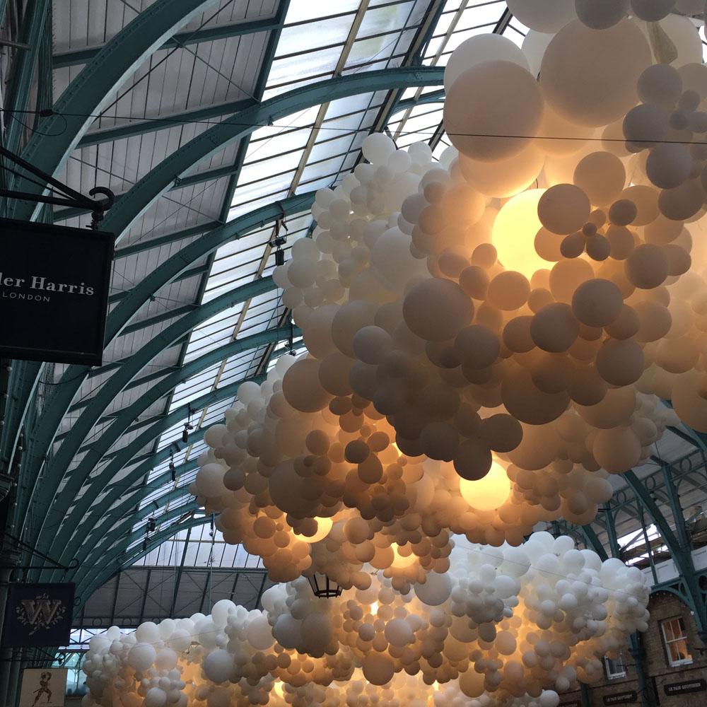 Balloons at Covent Garden | Design Hunter