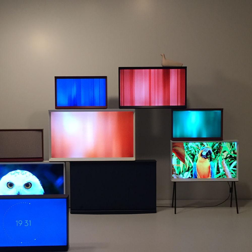 Samsung Serif TV launch at Somerset House LDF15 | Design Hunter
