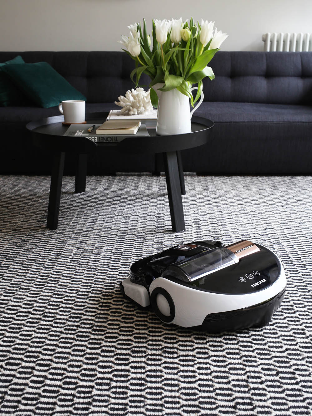 Samsung VR9000 Powerbot - cordless robot vacuum cleaner | styling and photography by Design Hunter