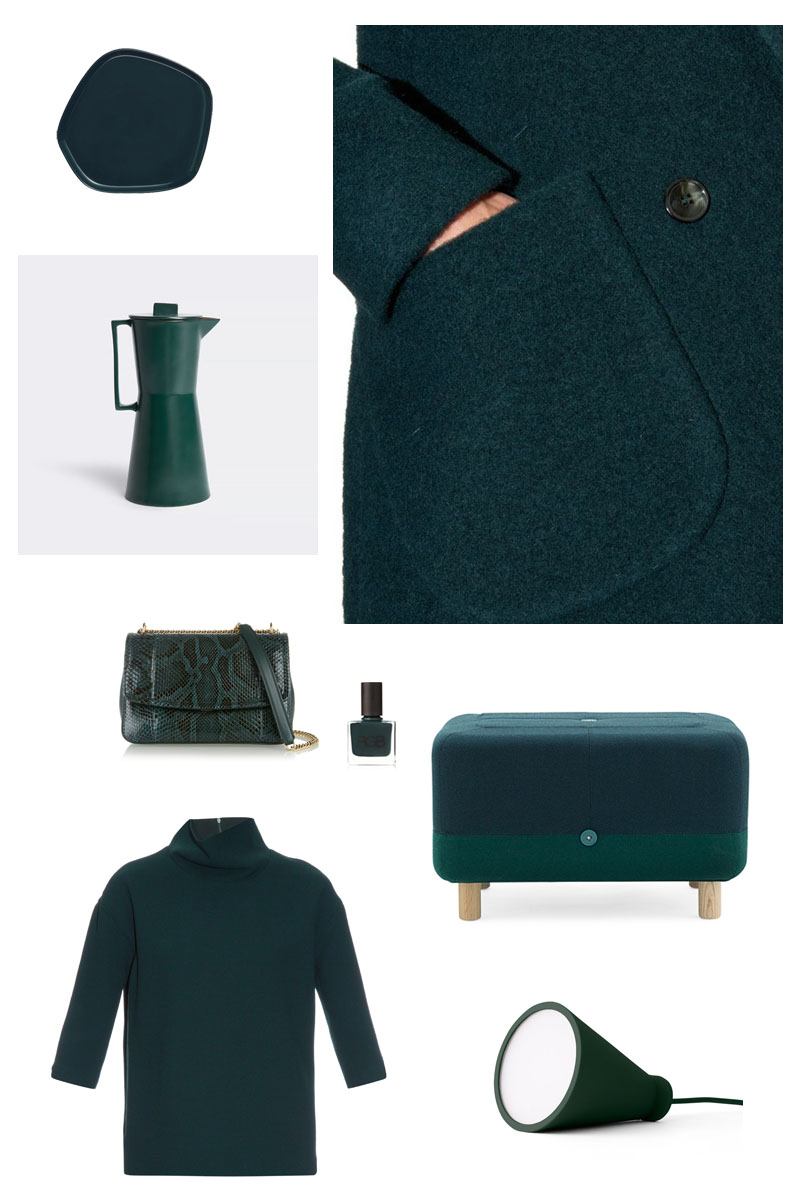 Forest Green moodboard