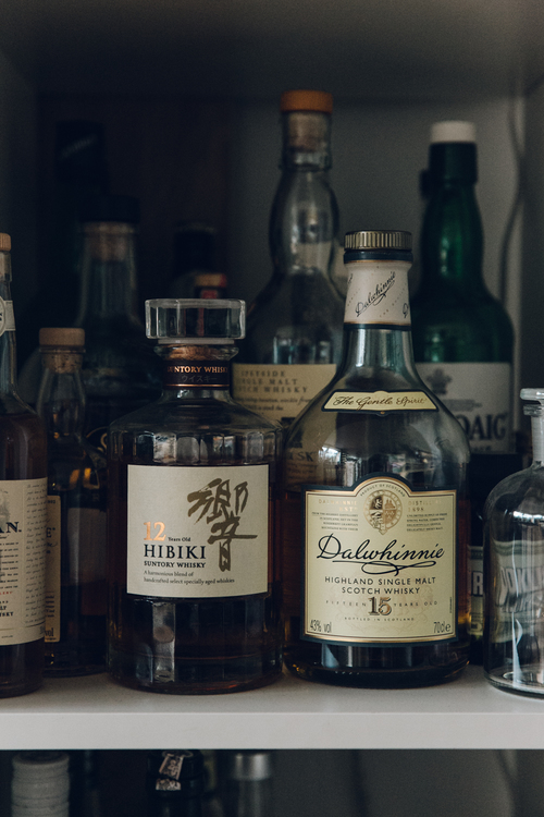 Whisky collection | The Haarkon House