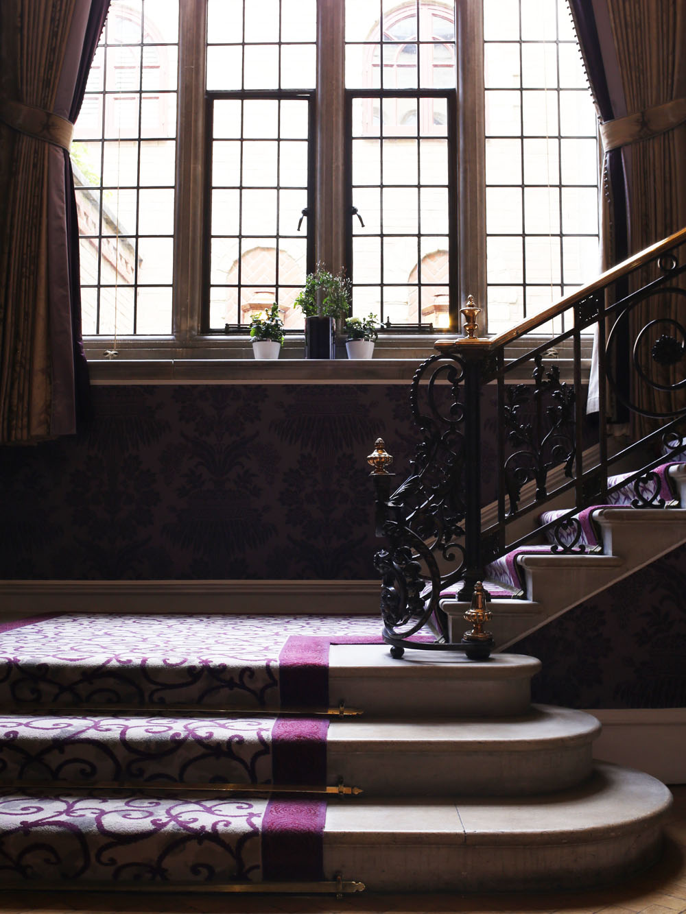 Staircase at Pennyhill Park
