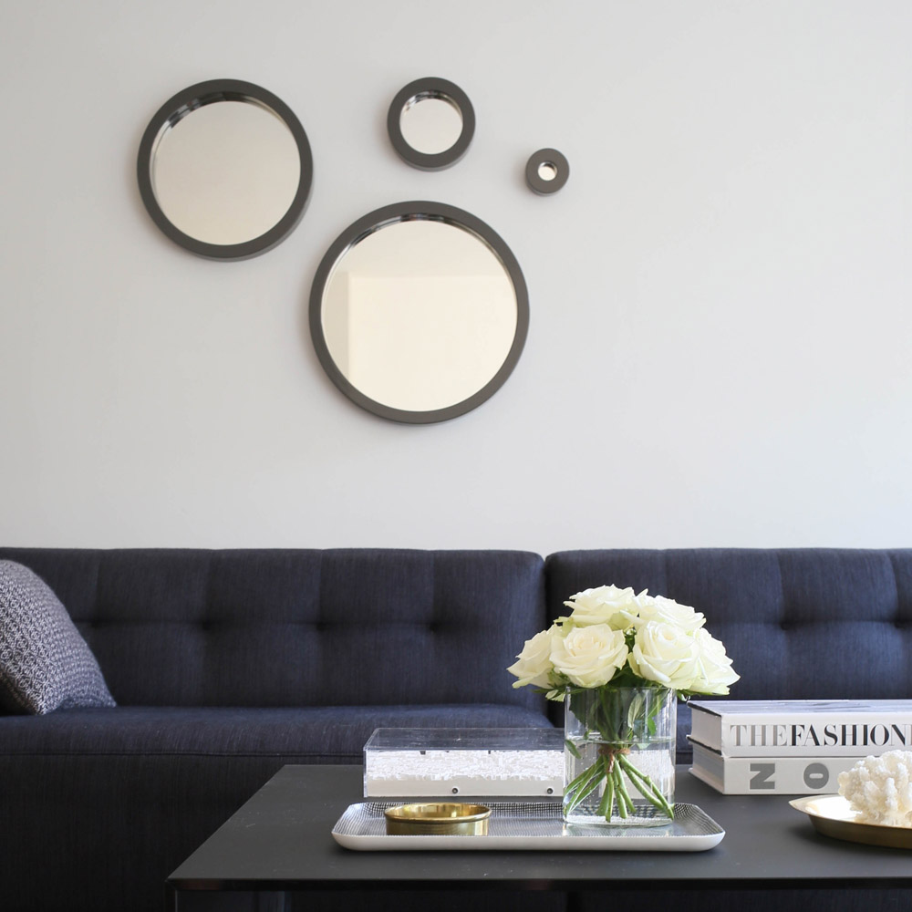 Coffee table styling and mirrors | Design Hunter x Lee Longlands