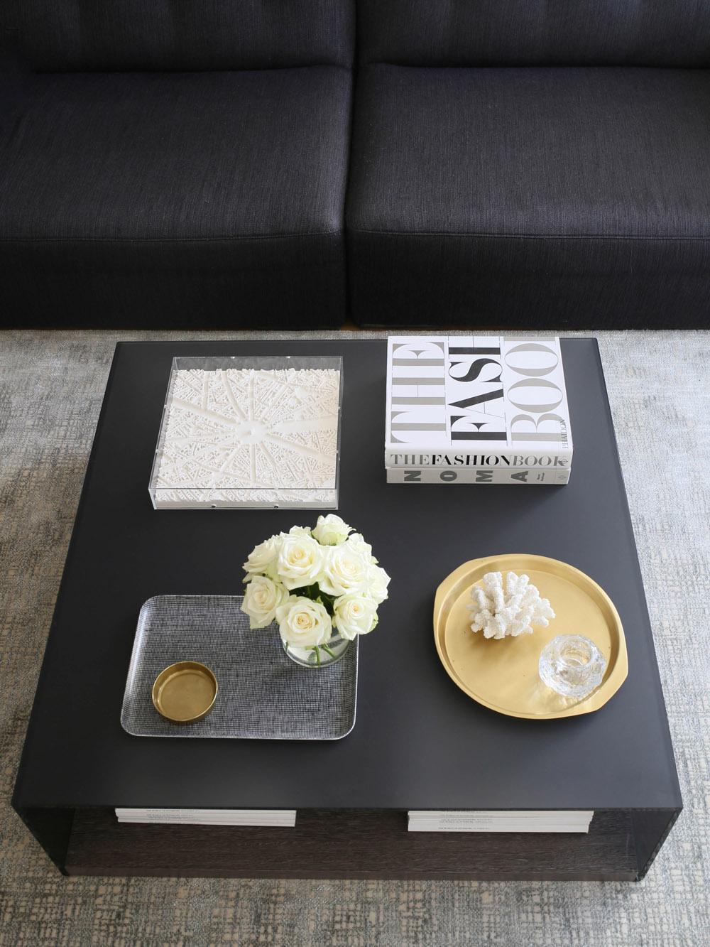 Ligne Roset sofa and coffee table | Design Hunter x Lee Longlands