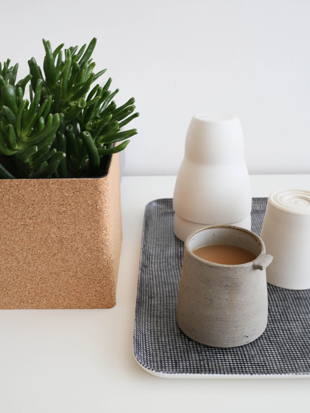 Cork plant pot | Design Hunter